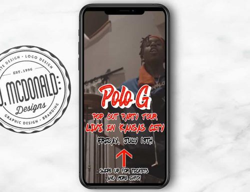 "Polo G ""Kansas City Pop Out Party"" Concert – Instagram Story"
