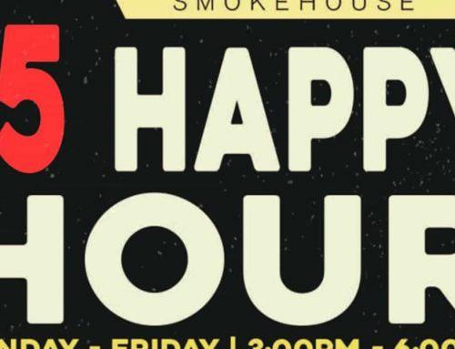 Bear's Smokehouse BBQ Happy Hour Flyer