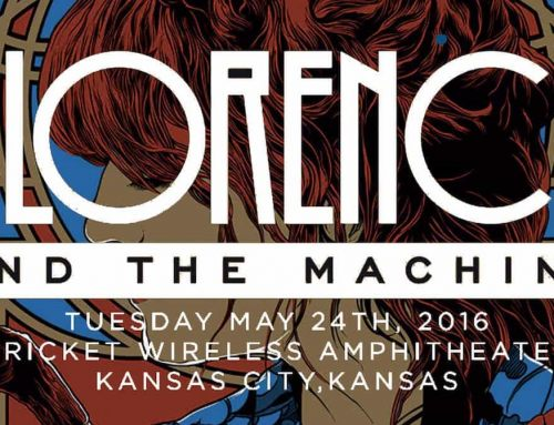 Florence & the Machine Concert Poster