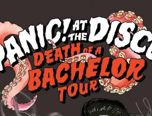Panic At The Disco Concert Poster